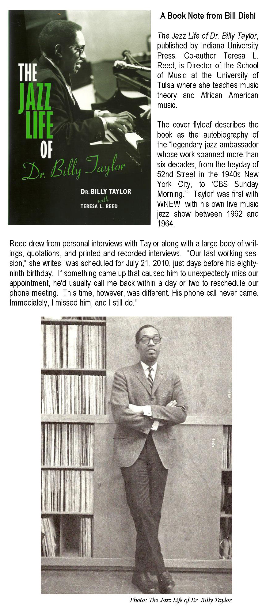 Jazz Life of Billy Taylor for web