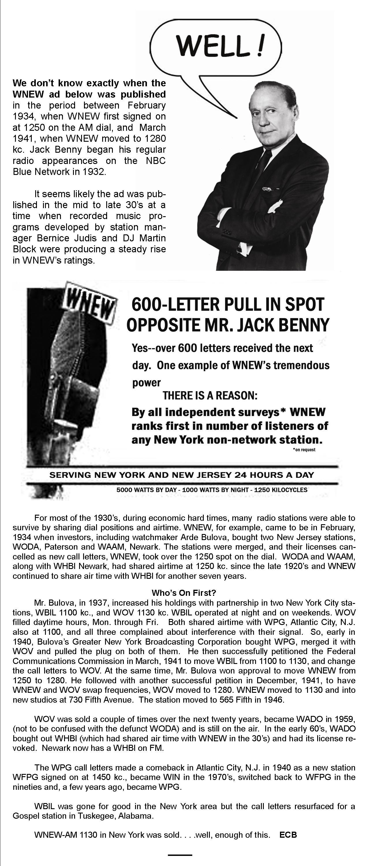 WNEW Jack Benny 7-12-14 (2)