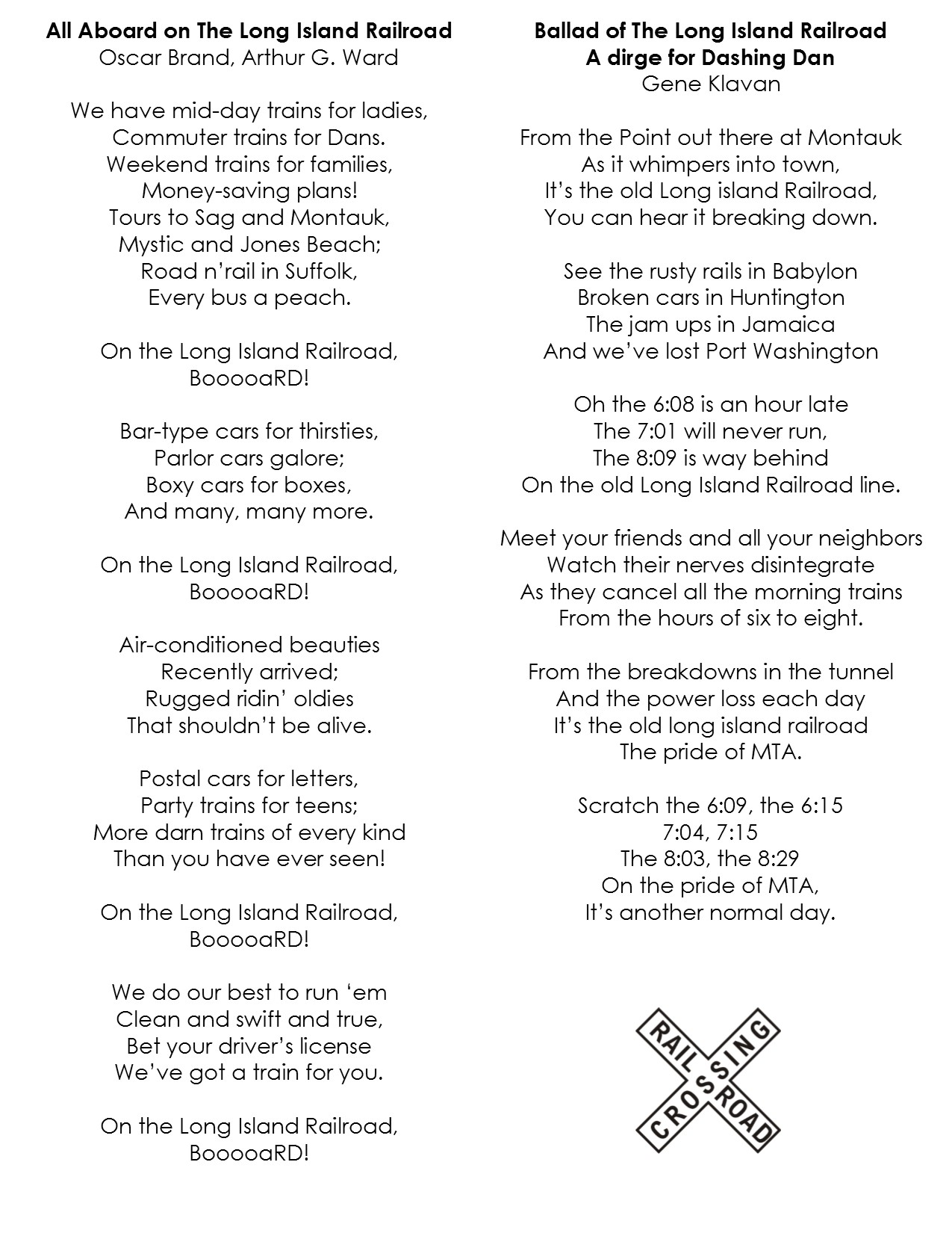 lyrics compared for web